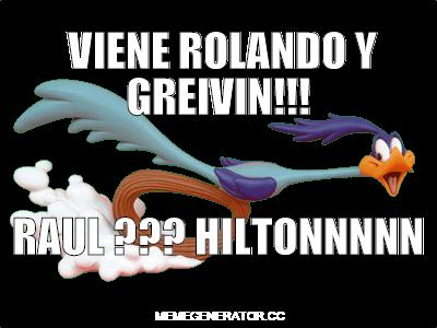 Viene Rolando y Greivin!!!
