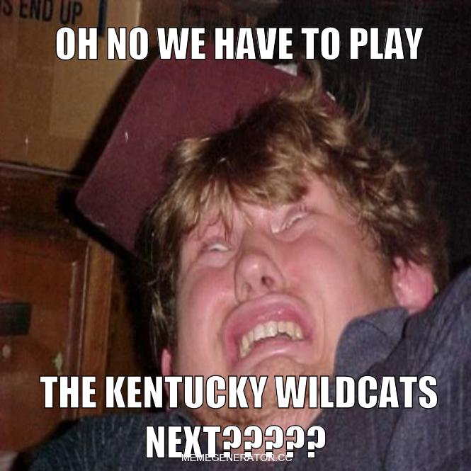 Kentucky ain't skeered