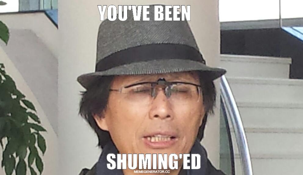 Shuming'ed