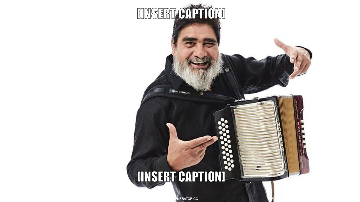 Nadie usa el acordeón como Celso Piña